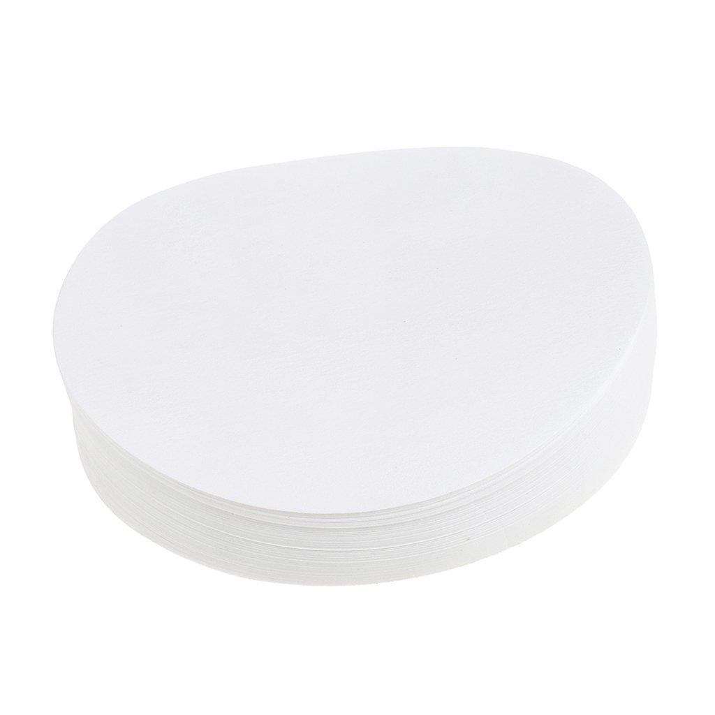 MagiDeal 100 Cercles De Papier De Filtre Quantitatif Sans Cendres Rondes Lentes 1-3um - blanc, 7cm Non-brand 0021002580058UKA