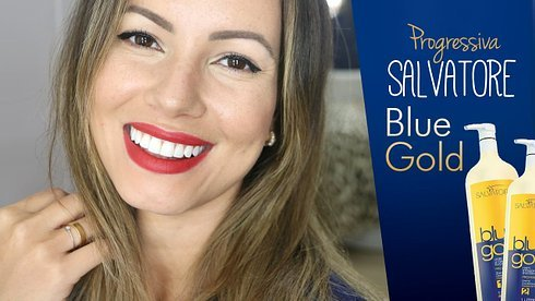 Salvatore Blue Gold Hair Straightening | Brazilian Keratin Treatment 2L by Blue Gold (Image #2)