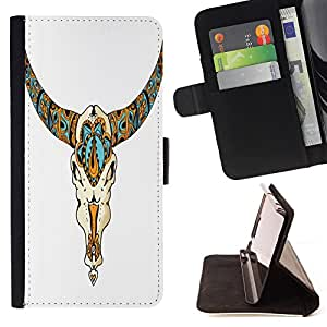 King Case - FOR HTC One M8 - catch a kite - Prima caja de la PU billetera de cuero con ranuras para tarjetas, efectivo Compartimiento desmontable y correa para la mu?eca