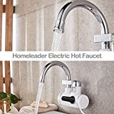 LtrottedJ Homeleader Electric Hot Water Heater Faucet Electric Hot Water Dispenser Faucet
