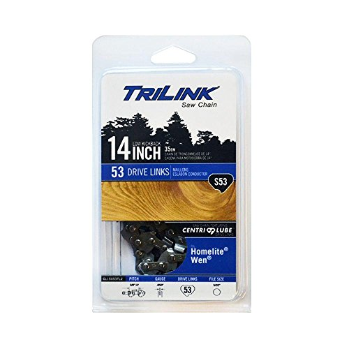 TriLink 14 in. S53 Semi Chisel Chainsaw Chain