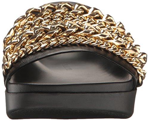 amp; Black Kkshiloh Sandal Latte Gold Kylie Flat Women's Kendall Lite ZHqwqd