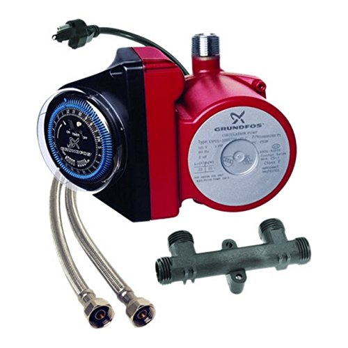 Grundfos 595916 1/25 Horsepower Comfort Series Recirculator (Hot Water Pump)