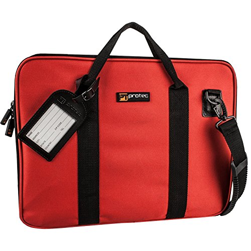 Protec Slim Portfolio Bag, Red (P5RX)