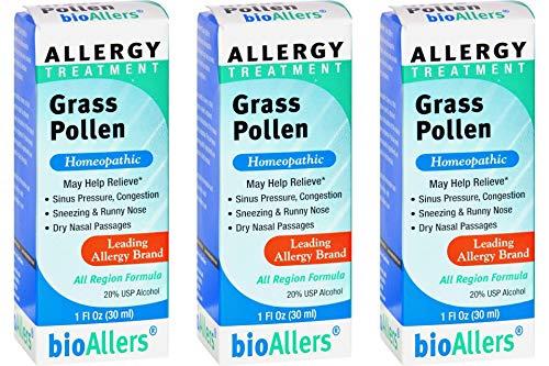 Bio Allers Grass Pollen Allergy Treatment, 1 Ounce - 3 per case.