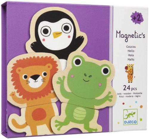 Djeco Cou Cou Jungle Magnetics