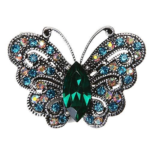 - Vintage Butterfly Shape Metal Gift Fashion Jewelry Brooch Lapel Pin