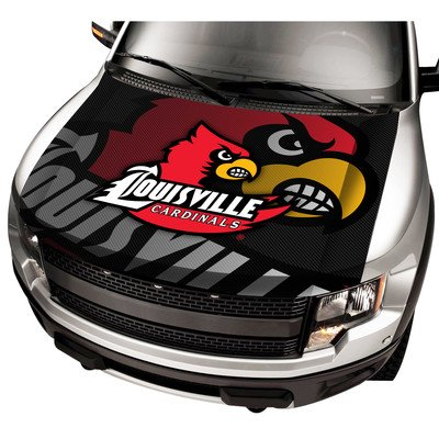 ProMark NCAA Louisville Auto Hood Cover, One Size, One Color