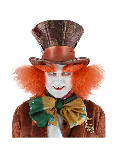 Elope Disney Mad Hatter Costume Eyebrows for Adults -