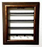 "The Jewelry Frame! Decorative Jewelry Display Organizer in a Picture Frame! (8""x10"", Bronze)"
