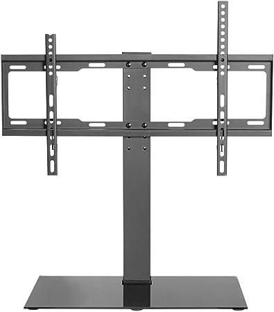 LQW HOME Soporte para TV Rack de TV para Escritorio (37-55 Pulgadas) Soporte para TV Base de Mesa para TV (Color : Black, tamaño : 67.2-73.2 * 53 * 25cm): Amazon.es: Hogar