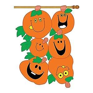 """Pumpkins Flag Indoor/outdoor 33"""" X 42"""""""
