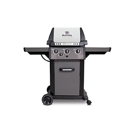 Amazon.com : Broil King 931267 Monarch 340 Natural Gas Grill : Garden & Outdoor