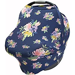 Floral Car Seat Canopy