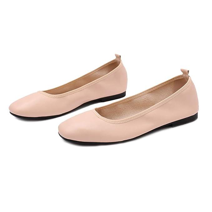RegbKing Zapatos Planos Zapatos De Mujer Zapatos De Ballet ...