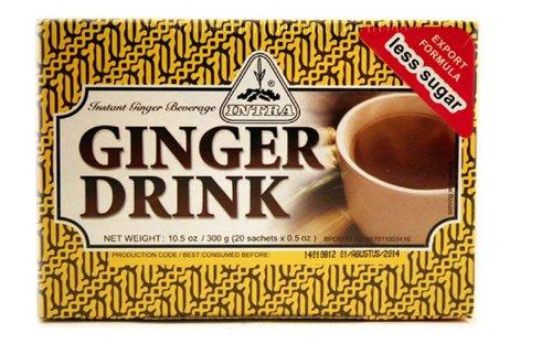 Intra Ginger Drink Less Sugar, total10.5 -