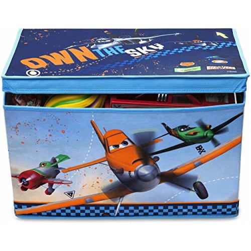 Disney Collapsible Storage Trunk Toy Box Organizer Chest: Disney Planes Collapsible Storage Trunk Toy Organizer Box