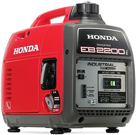 Honda EB2200I Super Quiet 2200-Watt Portable Industrial Inverter Generator