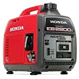 Honda EB2200I Super Quiet 2200-Watt Portable Industrial Inverter Generator (Red)