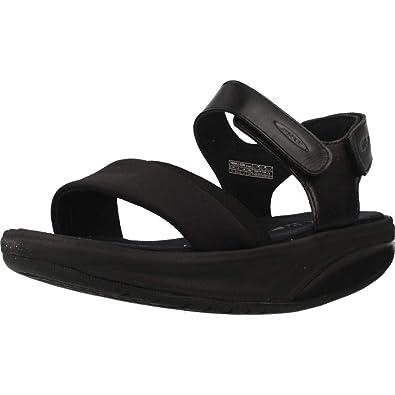 db4eb963d8c0 MBT Sandals 700951-03N Honna W Black  Amazon.co.uk  Shoes   Bags