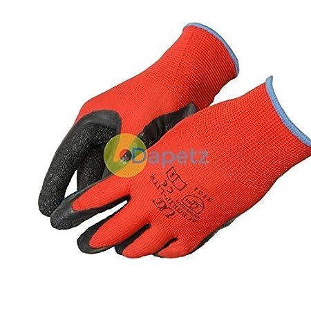 1 x Ace Grip Lite Latex Coated High Grip Gripper Work Gloves Medium General Use