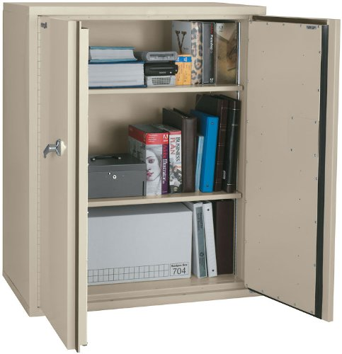 FireKing CF4436-D Storage Cabinet 2 adj shelves