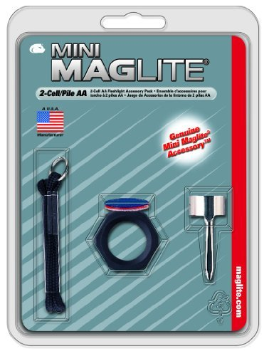 Maglite Mini AA Flashlight Accessory Pack for sale  Delivered anywhere in USA