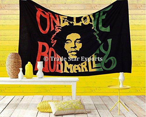 Trade Star Exports Bob Marley Tapestry, Indian