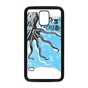Custom Octopus Design Plastic Case Protector For Samsung Galaxy S5