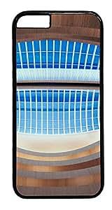 iPhone 6 Plus Case, Singular Building Designer Rugged Hard Plastic Back Case Cover Protector for Apple iPhone 6 Plus(5.5INCH) PC Black