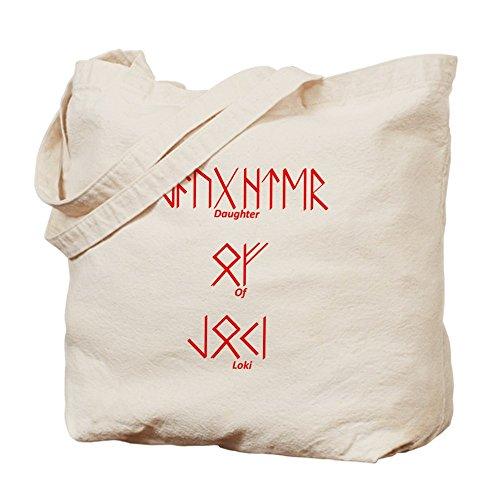 CafePress–hija de Loki–Gamuza de bolsa de lona bolsa, bolsa de la compra