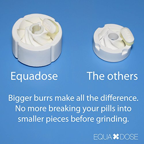 The Equadose Pill Crusher, Pill Grinder. Crushes Multiple Tablets at Once. Great for Pets Too. by Equadose (Image #5)