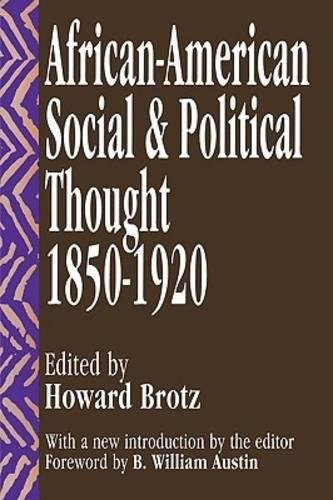 Search : African-American Social and Political Thought: 1850-1920