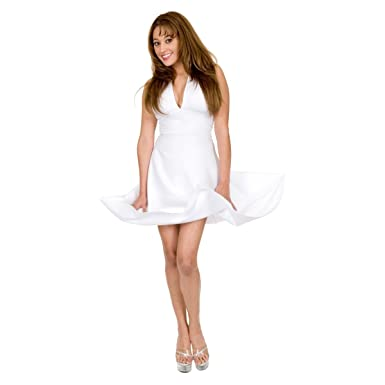 f88a06bf2c3 Amazon.com  Sexy Marilyn Costume Dress - A Popular Choice! PLUS SIZES   Clothing