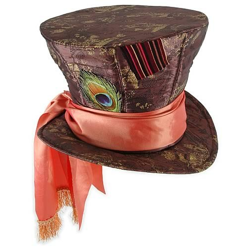 Mad Hatter Costume Tim Burton (Alice in Wonder land Mad hatter HAT)