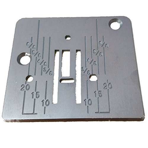 HONEYSEW Needle Plate For Babylock Janome New Home Viking Pfaff 744004001/739008009/744004104 by HONEYSEW