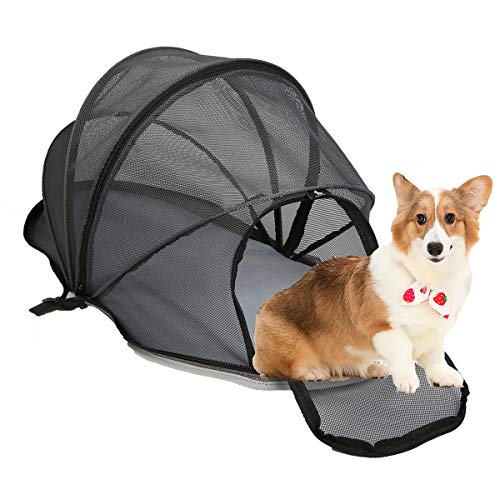 Hcupet Collapsible Cat Playpen Tent, Indoor Pet Playpen for Dog, Portable for Outdoor Camping and Traveling