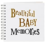 The Bright Side - Beautiful Baby Memories - Baby Scrapbook by Bright Side