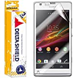 [3-PACK] DeltaShield BodyArmor – Sony Xperia SP Screen Protector – Premium HD Ultra-Clear Cover Shield with Lifetime Warranty Replacements – Anti-Bubble & Anti-Fingerprint Military-Grade Film
