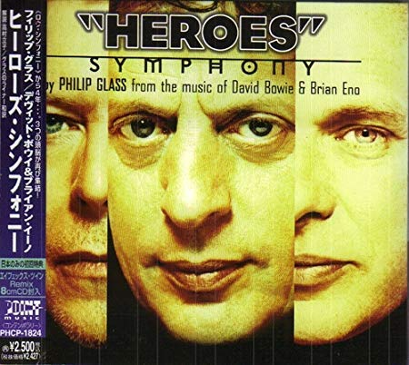 philip glass david bowie brian eno ''heroes'' symphony