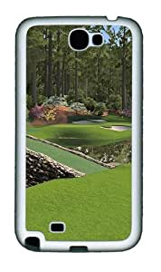 12th Augusta National Personalized Samsung Galaxy Note 2/ Note II/ N7100 Case and Cover - TPU - Black