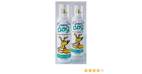 Taberdog colonia desodorante para perros 200 mls.: Amazon.es: Productos para mascotas