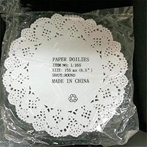 Eaglers Hot 80pcs/lot 11.4cm-26.7cm Cute Round Lace Paper Doilies Craft Cake Placemat Wedding Birthday Prom DIY Decoration