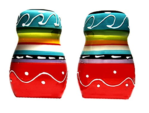 Carmelita Salt & Pepper Shakers by Dolomite