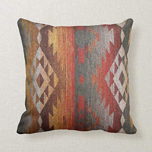 qidushop Navajo - Funda de cojín Decorativa para sofá (45 x ...