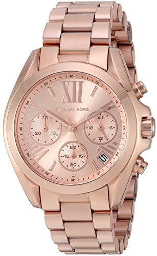 Bradshaw Rose Gold-Tone Watch MK5799 ()