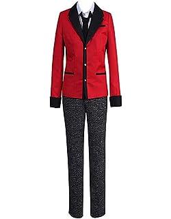 Kakegurui:Compulsive Gambler Suzui Ryota School Uniform Suit cosplay costume
