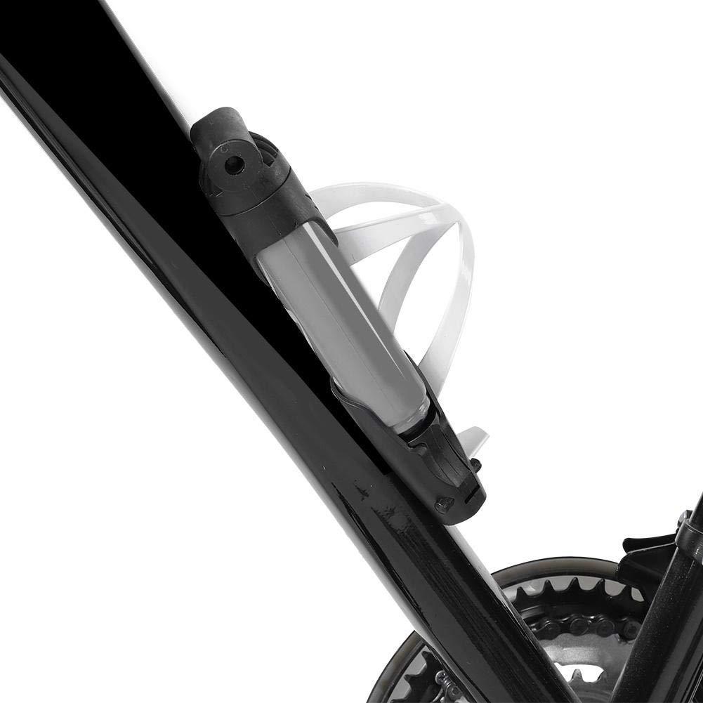 Alomejor Bomba de Bicicleta de Bicicleta compacta de 3 Secciones con Kit de Montaje de Marco