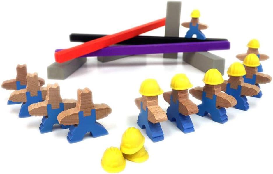 Asmodée- Men at Work - Español, Color (PZG20050ES): Amazon.es: Juguetes y juegos