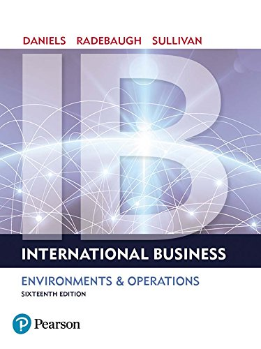 International Business (International Business Competing In The Global Marketplace)